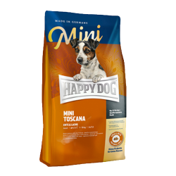 Сухой корм для собак мелких пород Happy Dog Supreme Mini Toscana